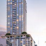 洛杉磯市中心 Perla現代35層住宅大樓 預售中