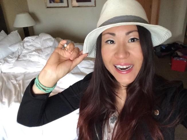 33歲的趙茜陳屍密西根州一處休閒區停車場。(趙茜臉書)