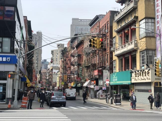 川普欲加「公民」問題於人口普查,紐約市多個華社參與度低。(記者張晨/攝影)