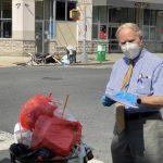 州眾議員寇頓訪班森賀華社 籲維護整潔