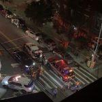 紐約警飛車趕往槍案現場 撞死摩托車騎士