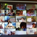 亞城華文教師 學習剪紙與篆刻