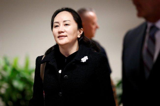 中國電信巨頭華為財務長孟晚舟。(路透資料照片)