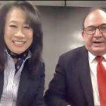 夏樂柏伉儷挺亞裔爭平等 訪灣區號召反對16號提案
