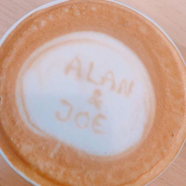 陳喬恩甜蜜慶祝相識富二代男友Alan一周年。(取材自Instagram)