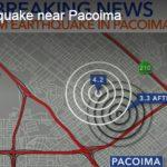 聖費南度谷 清晨規模4.2地震
