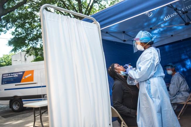 州府將提供超過3000萬元用於加強地方疫情追蹤,其中大部分資金將撥給各地方衛生局用於增加追蹤人手。(紐約市長辦公室提供)