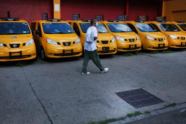 新冠疫情下,纽约市出租车行业受到重创。(Getty Images)