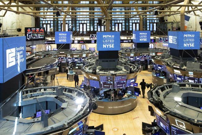 科技股財報雖亮眼,卻推不動美股全面攀高。美聯社