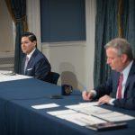 紐約全市感染率低於3%就復課 白思豪宣布疫下返校計畫