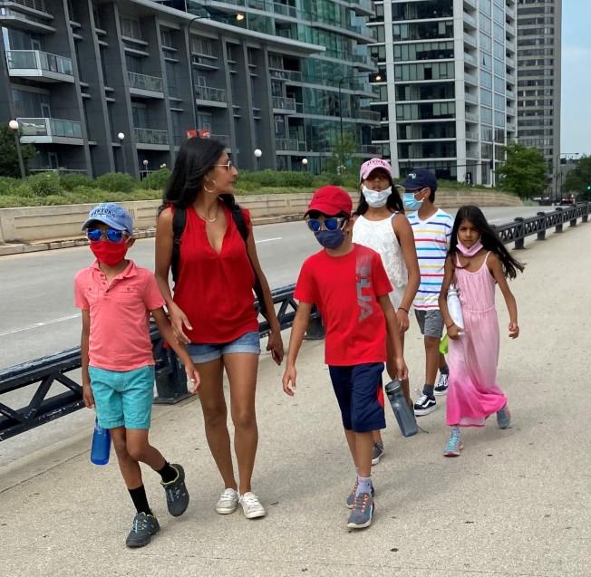 西北大學盧里兒童醫院最新研究指出,五歲以下幼童攜帶的新冠病毒數量,最高可比成人多出100倍。(特派員黃惠玲/攝影)