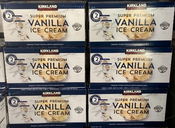 超級優質香草冰淇淋是眾多冰品中的長賣商品。(取自官網)