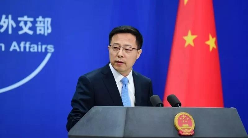 中國外交部發言人趙立堅。 取材自推特