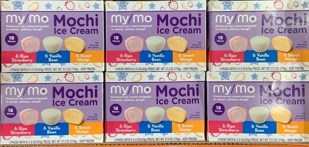 冰淇淋麻糬,可愛的造型,加上粉嫩色彩,讓人忍不住一口接一口。(取自官網)