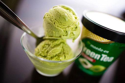 綠茶冰淇淋口味清爽,深受歡迎。(取自臉書)