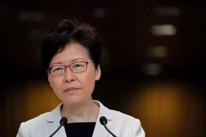 香港特首林鄭月娥。美聯社