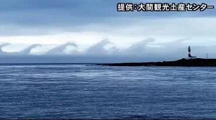 北海道海面出現「哥吉拉遊行」? 專家解釋奇景成因