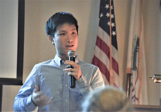 🎓林靖軒期待用科學成果 回饋華裔社區