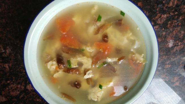 海茸酸辣湯
