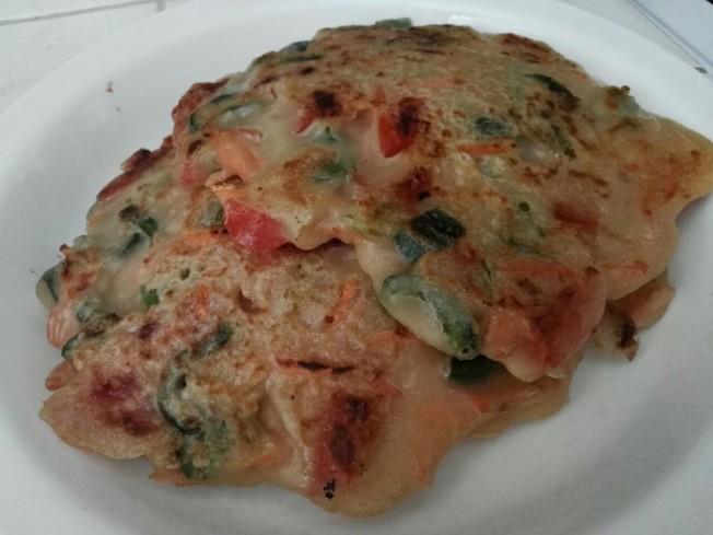 綜合蔬菜餅