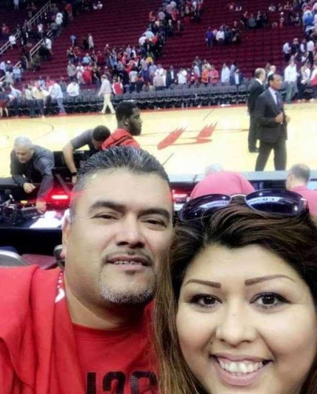 休士頓的阿勒曼夫婦因為新冠肺炎而先後住院。(休士頓紀事報)