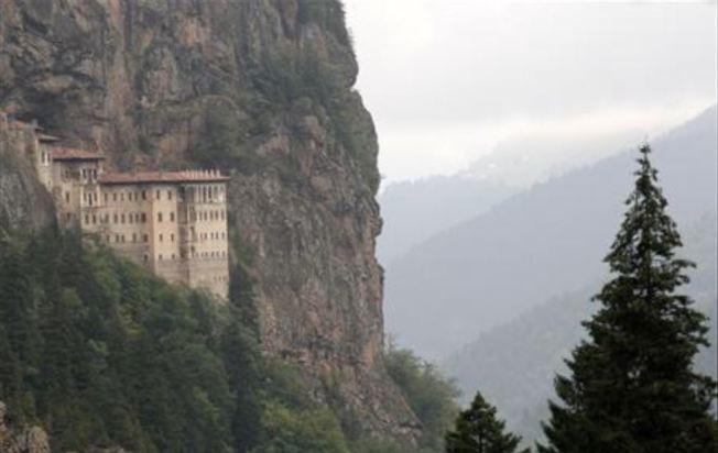 蘇美拉修道院為繼世界遺產聖索菲亞之後,土耳其境內另外一座受到關注的重要宗教建築群。路透資料照片