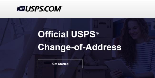 3月以来,由于新冠疫情,USPS收到把地址从纽约市更改为纽约长岛的申请数量激增。(USPS网站截图)