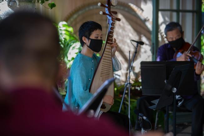 多位華裔的音樂家參與「樂流」項目演奏。(交響樂團提供)