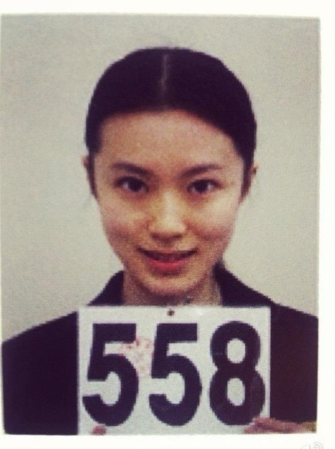 黃璐進入北京電影學院後,起初對自己非常沒信心,圖為考學照片。(黃璐提供)