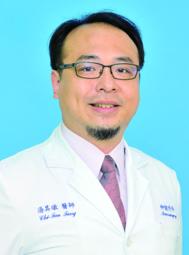 三軍總醫院神經外科部腦中風醫學及腦神經功能科主任湯其暾。(圖:許一智醫師提供)
