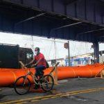 嚴防熱帶風暴「伊賽亞斯」 曼哈頓下城設臨時防洪
