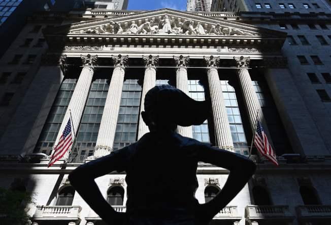 股指在8月的第一個交易日走升,華爾街試圖延續其連漲4個月紀錄。(Getty Images)