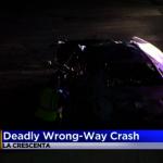 女子逆向撞兩車司機魂斷210高速公路