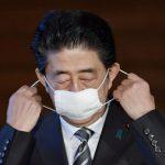 日本新冠肺炎展 安倍口罩變成展品