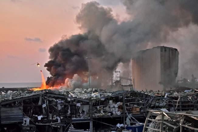 网友各角度实拍:贝鲁特大爆炸 宛如世界末日