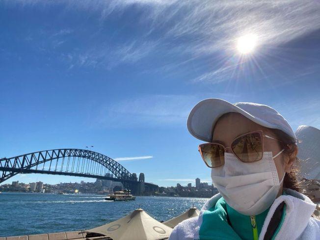 楊紫瓊已抵達澳洲雪梨。圖/摘自Instagram