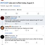 熱帶風暴襲紐約 「換邊停車」仍照常 車主怒