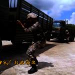 跨鐵絲網、穿火圈、越障礙… 駐港部隊汽車兵實戰訓練