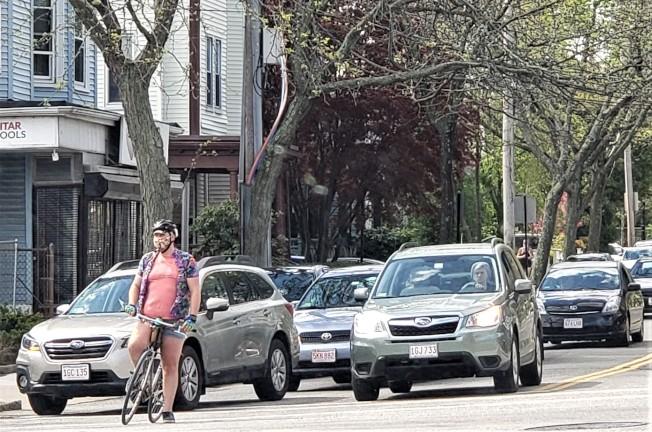 波士頓在今年「十大健身城市」排名第十,騎車和走路上班者的比例高於其他城市。(記者唐嘉麗/攝影)