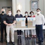 生活家電Coway關心公僕健康捐贈杜魯斯警察口罩手套保護包