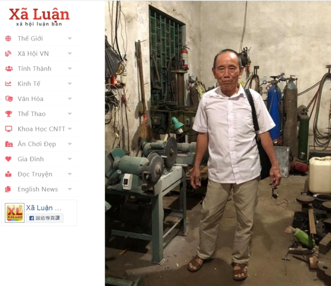 董文丘是一位超級富翁,擁有11妻27子女,住在一棟豪華別墅裡。(擷自「xaluan」)