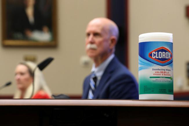 「高樂氏消毒濕巾」(Clorox Wipes)在新冠病毒疫情爆發後一直缺貨,今年5月國會眾院還專門舉行聽證會討論。(路透)