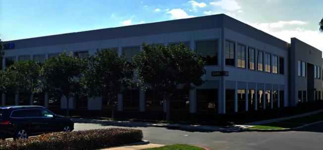 中資公司騰訊在爾灣簽下租賃辦公室。(谷歌截圖)