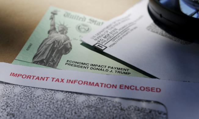 共和黨最新版本的紓困法案,可使今年過世的人能獲得兩輪紓困支票。(美聯社)
