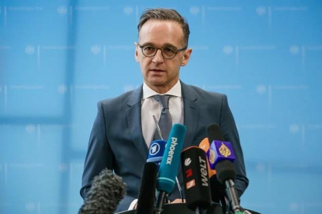 黎巴嫩首都貝魯特4日發生大爆炸,德國外交部長馬斯(圖)對這場悲劇表示哀悼。 歐新社