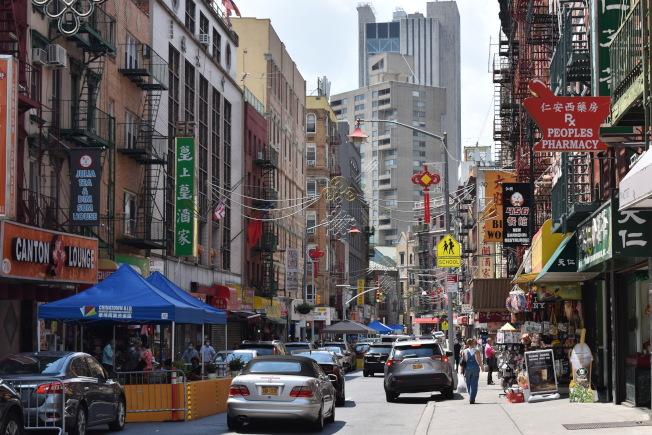 有許多華埠老牌餐館在疫情後都宣布歇業。(記者顏嘉瑩/攝影)
