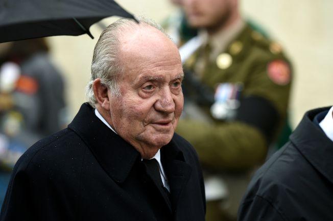 圖為貪腐指控纏身的卡洛斯一世(Juan Carlos I),3日突然宣布決定離開西班牙,但是官方沒有證實他的行蹤,引起全球揣測。Getty Images