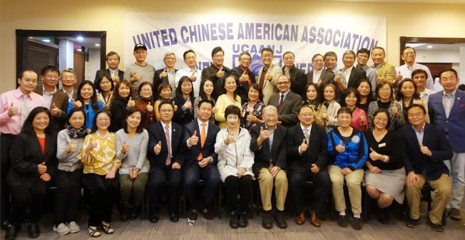 微信成為華人參政助選重要信息平台,圖為去年新州華人參選造勢活動。(本報檔案照)