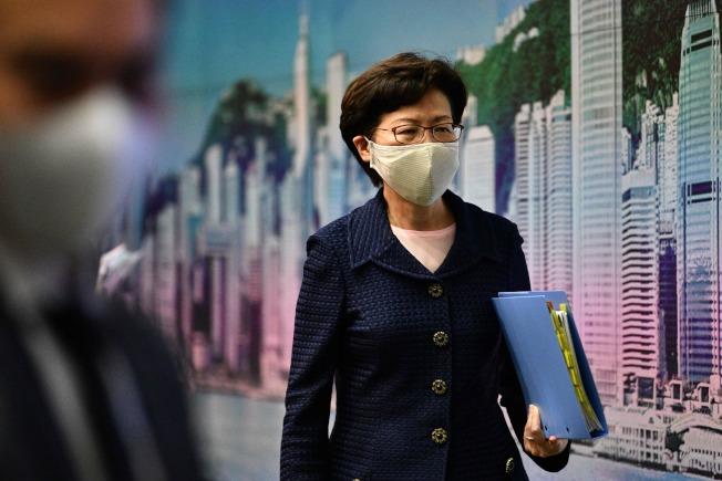 香港特首林鄭月娥。(Getty Images)