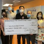 聖瑪利諾華協 捐50萬助清寒子弟